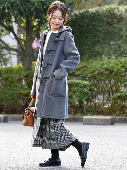 スクールガールなオトナ女子7度ファッション