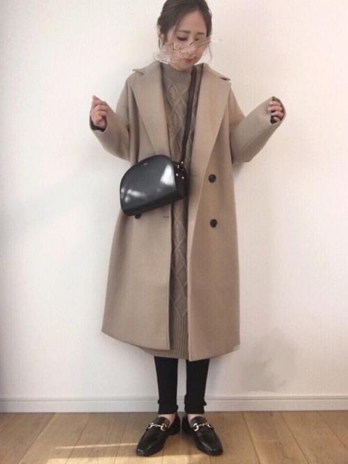 [MODE ROBE] オーバーサイズチェスターコート