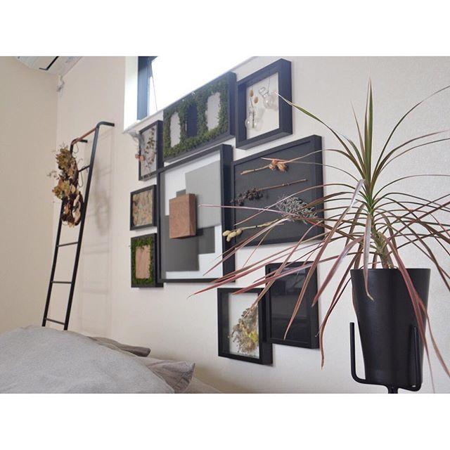 寝室インテリア 観葉植物4