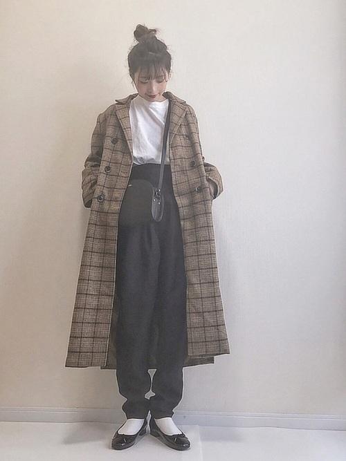 [tocco closet] 《今田美桜さんコラボ》ウエストタックテーパードパンツ