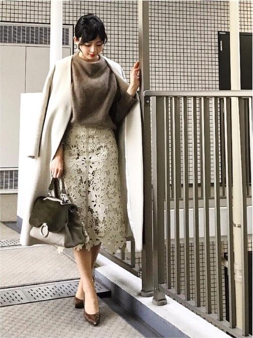 オフィス カジュアル スカート22