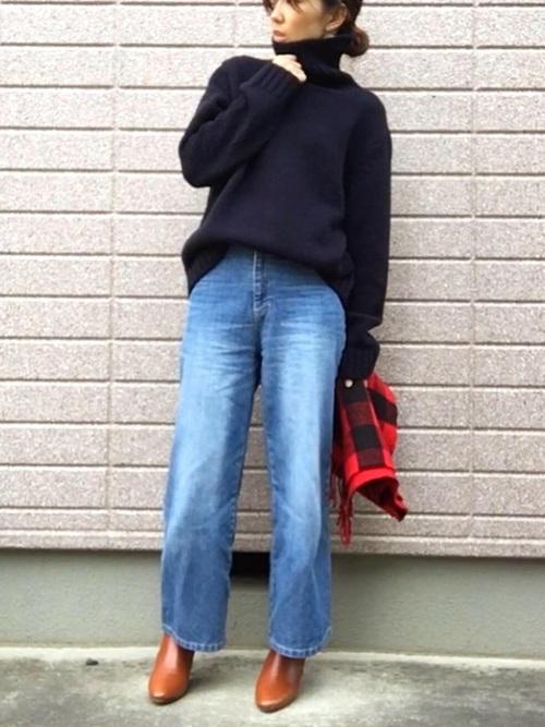 しまむら コーデ 冬8