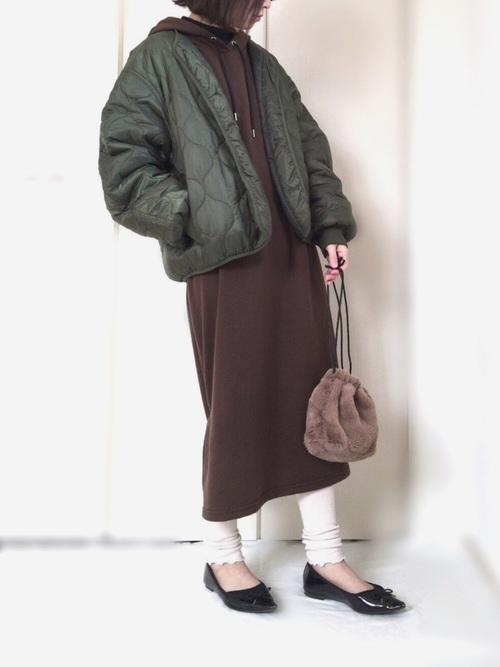 しまむら コーデ 冬14