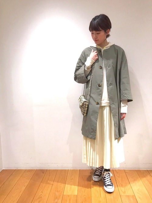 [Bshop] 【YOUNG & OLSEN The DRYGOODS STORE】シルクネップパーカー WOMEN