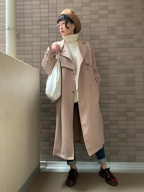 5[UNITED TOKYO] パターンミックスケーブルニット