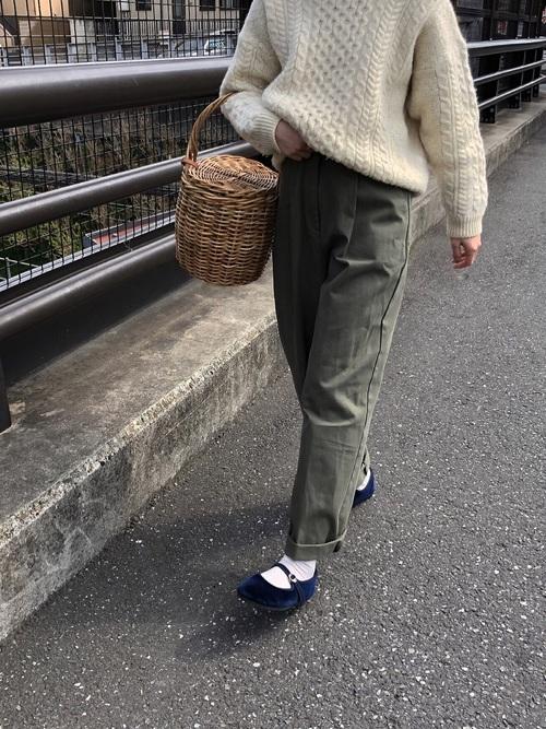 最高気温13度 服装 パンツコーデ3