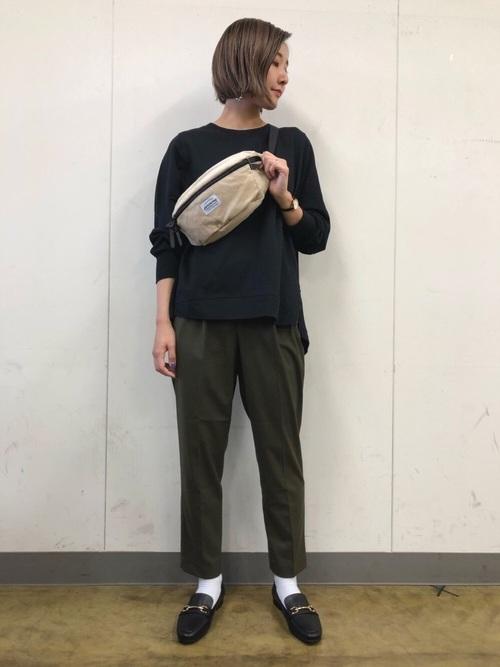 [GLOBAL WORK] 【抗菌防臭】シナヤカフィットローファー/843401
