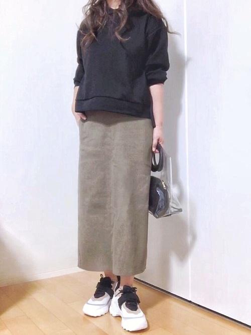 ユニクロ 秋コーデ11