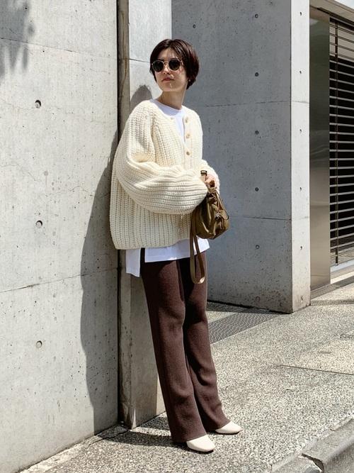 最高気温13度 服装 パンツコーデ4