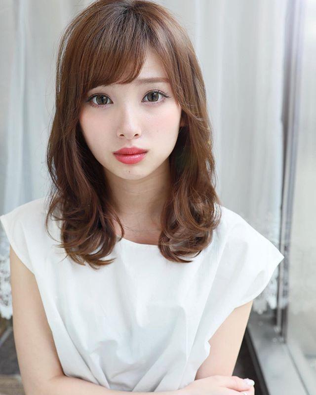 40代女性 髪型 ロングヘア