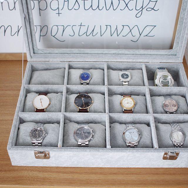 腕時計の収納アイディア3