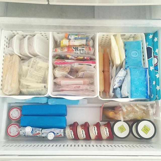 冷凍庫 収納5