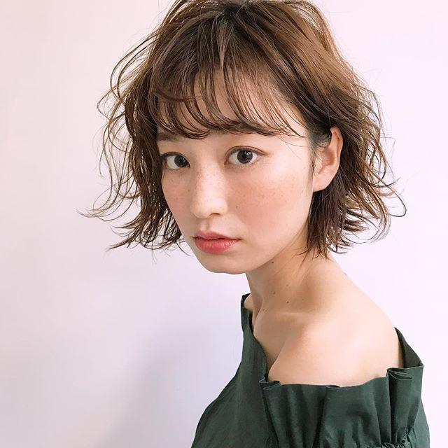 前髪 30代9