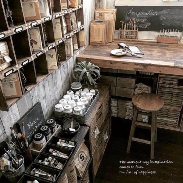 セリアの木板で棚を作って文庫本を収納