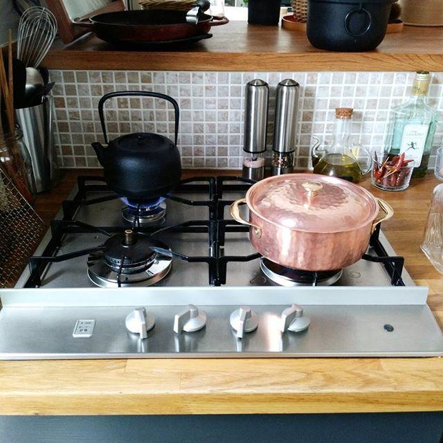 煮込み料理もお米も美味しくなる銅鍋