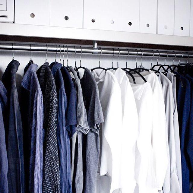お洋服の収納アイディア