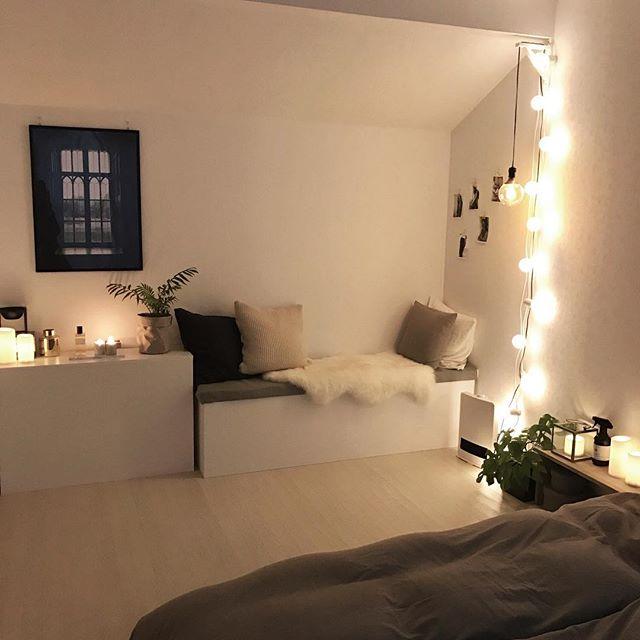 寝室インテリア 観葉植物5
