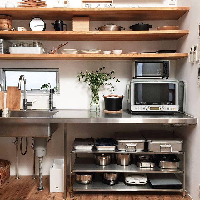 おしゃれなキッチン《スタイリッシュインテリア&収納》2