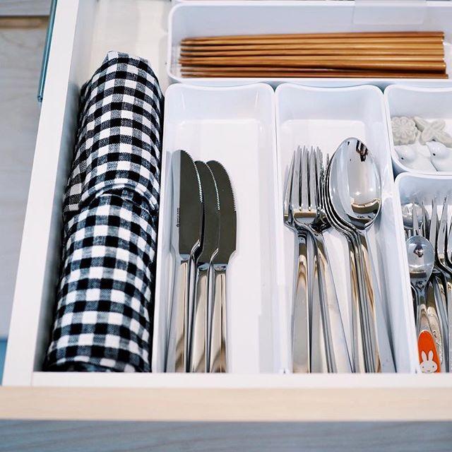 キッチンの引き出し収納《カトラリー》
