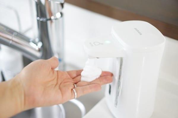使いやすい洗剤ボトル