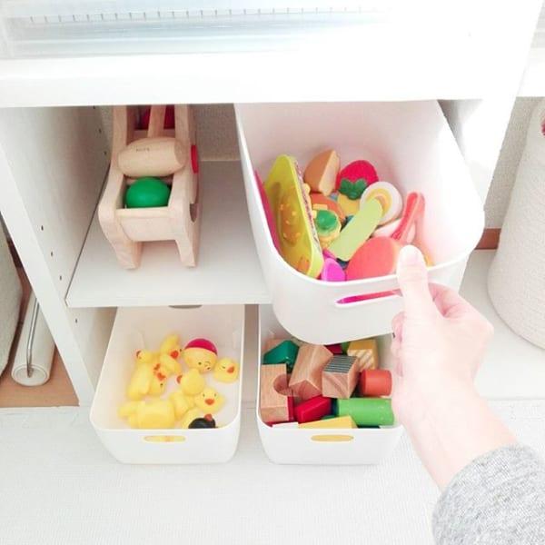 おもちゃ収納もすっきり