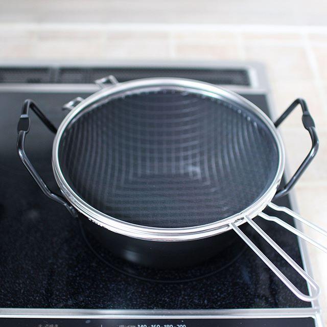la baseの鉄揚げ鍋