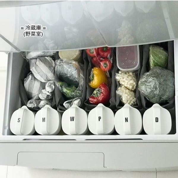 【冷蔵庫収納】100均グッズ①フリーボックス