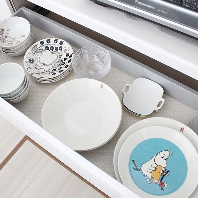 キッチンの引き出し収納《食器》3