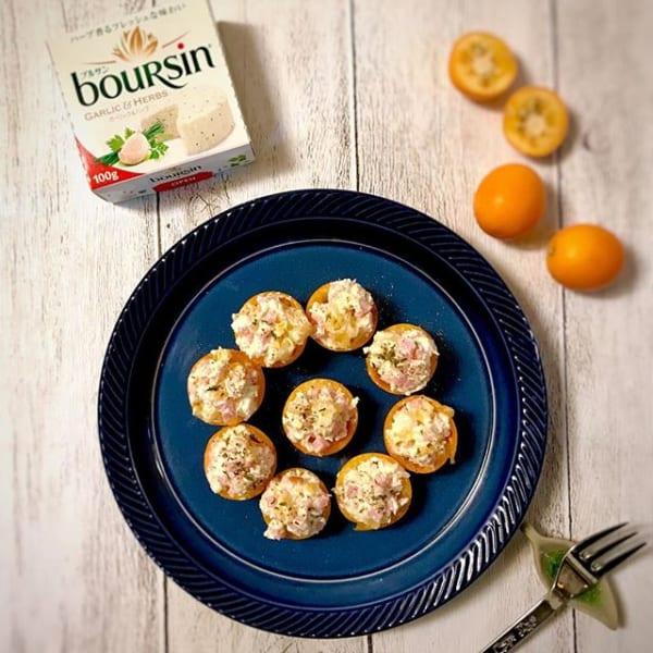 冬のフルーツで!金柑とチーズのフィンガーフード
