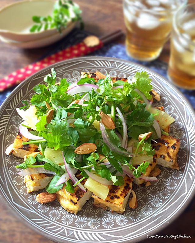 パクチー 人気料理レシピ サラダ