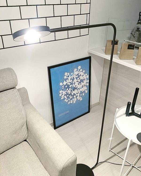 IKEAインテリアでアクセントをプラス