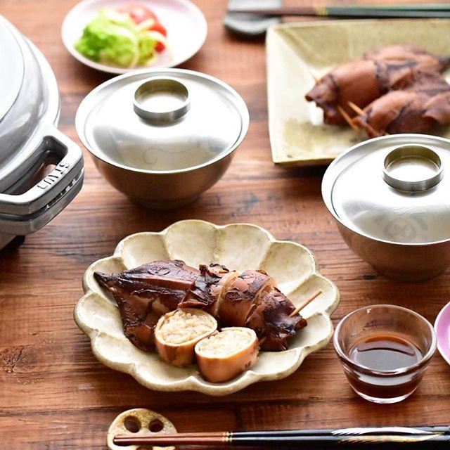 グリルパン 魚介メイン レシピ2