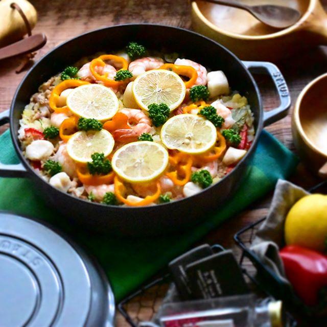 グリルパン 魚介メイン レシピ3