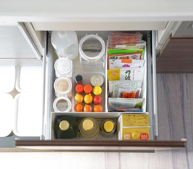 キッチンの引き出し収納《調味料》4