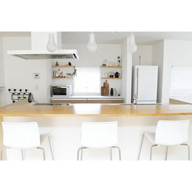 おしゃれなキッチン《シンプルインテリア&収納》6