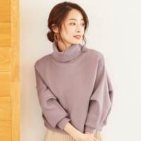 紫ニットコーデ28選♪《合う色別》おしゃれなパープルファッションをご紹介!