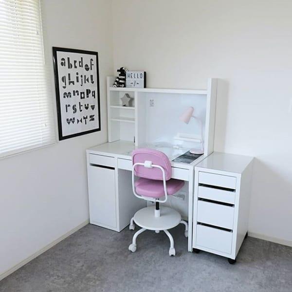 IKEAインテリアのキュートなキッズルーム