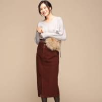 赤スカートの冬コーデ特集♡30代40代の大人ファッションを参考にしよう!