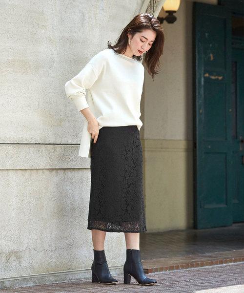 11[ur's] レースタイトスカート