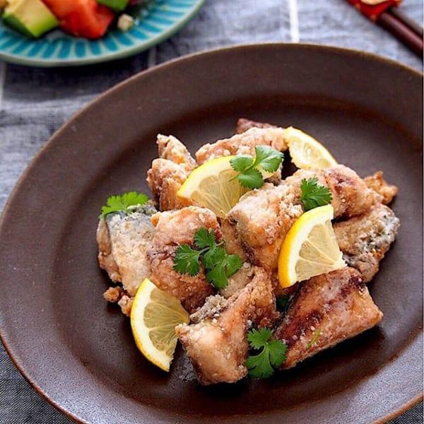 旬の魚で大人気のレシピに!サバの竜田揚げ