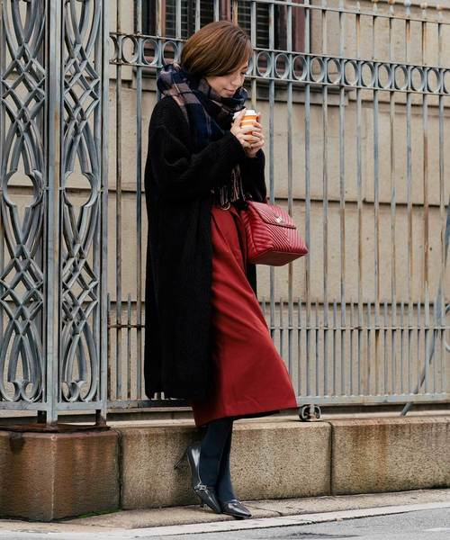 [ZAKKA-BOX] ウエストベルトタイトスカート