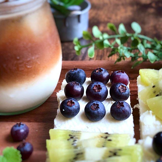 ブルーベリー 簡単人気 レシピ パン2