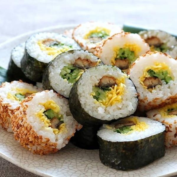 冬に食べたい魚料理に!うなぎの巻き寿司