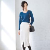 タイトスカートの冬コーデ特集♡大人可愛い着こなし方をカラー別にご紹介!