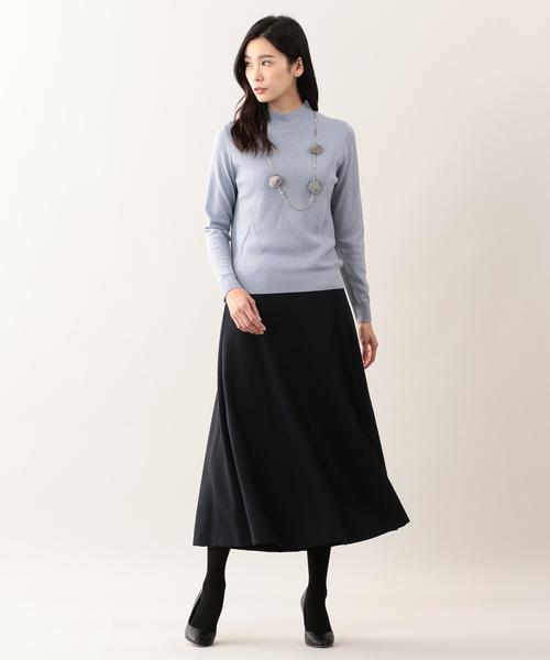 11[SANYO SELECT] ウールミックスビエラスカート
