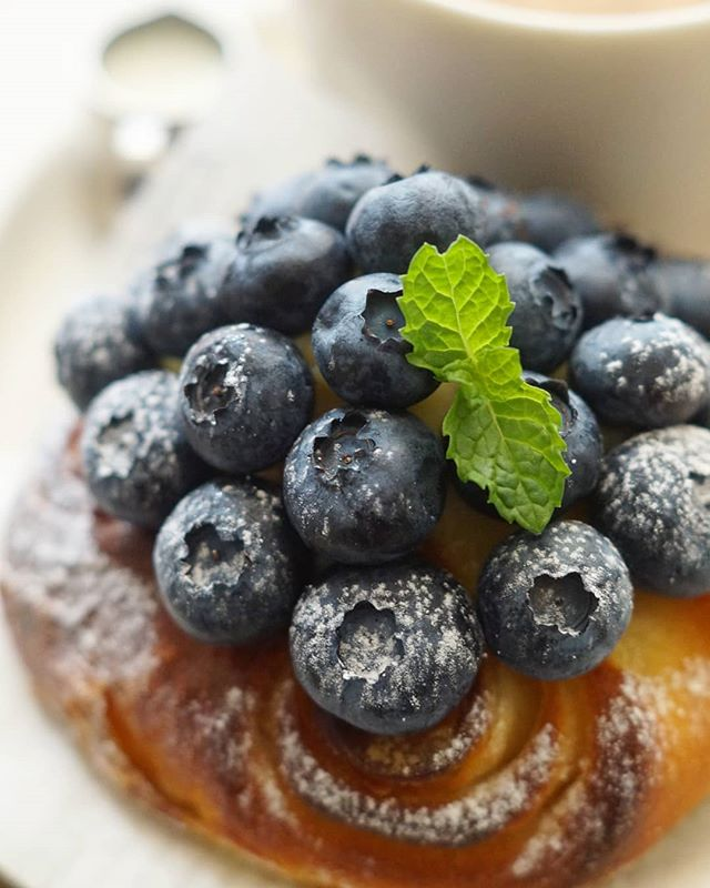 ブルーベリー 簡単人気 レシピ パン4