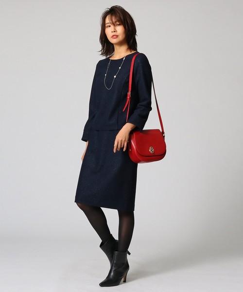 2[UNTITLED] ウールブークレースカート