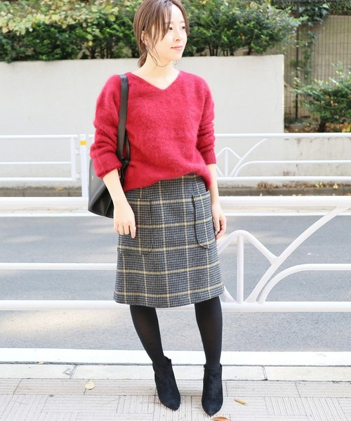 オフィス カジュアル スカート15
