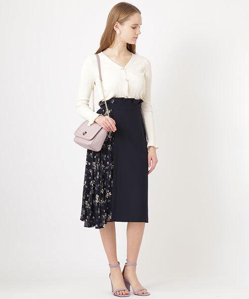 [JILLSTUART] ◆カロリーナドッキングスカート