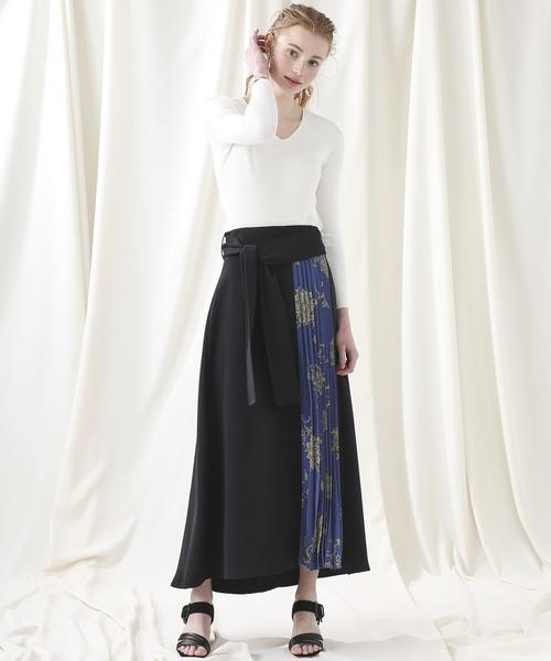 [STUDIOUS WOMENS] 【STUDIOUS】ヴィンテージプリントスカート